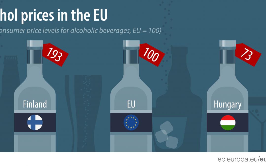 ceny alkoholu