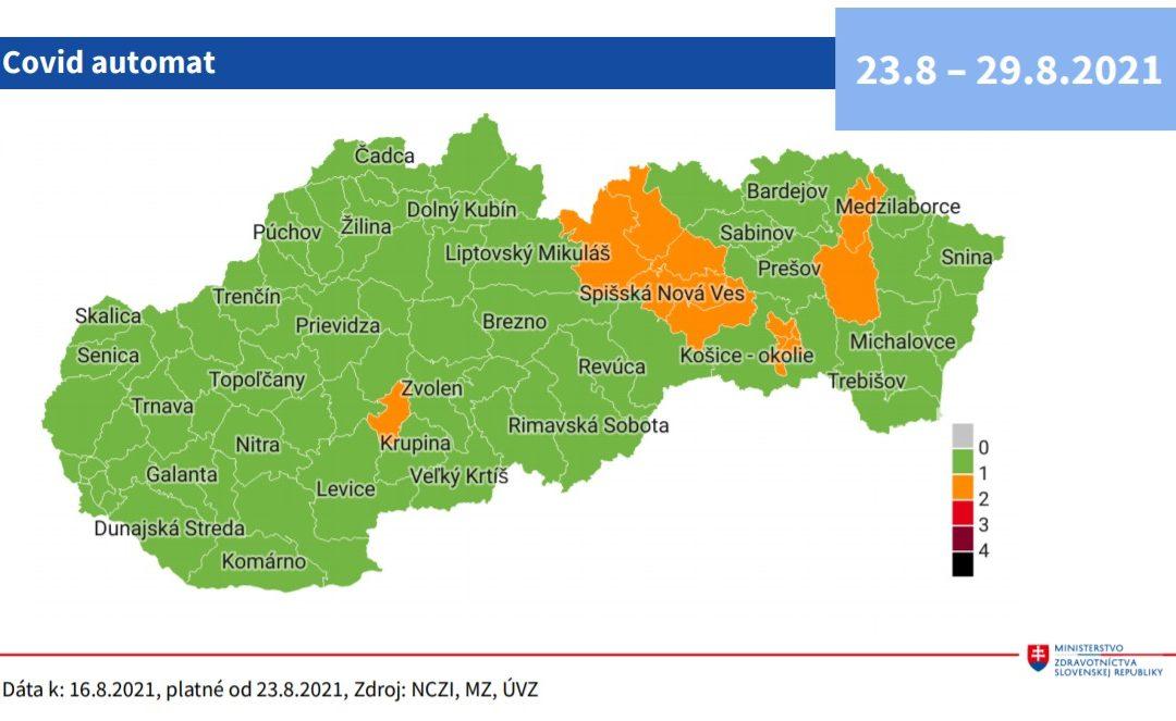 oranžové okresy