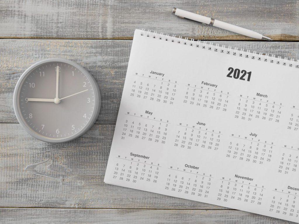 Prázdniny v školskom roku 2021/2022